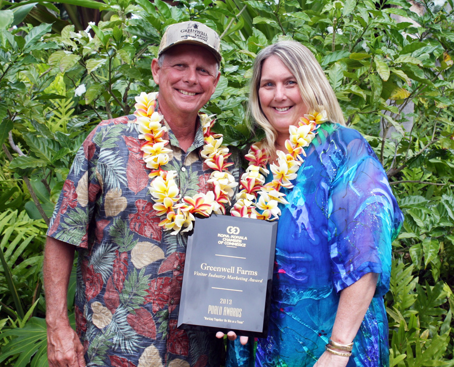 Kona Kohala Chamber of Commerce Award