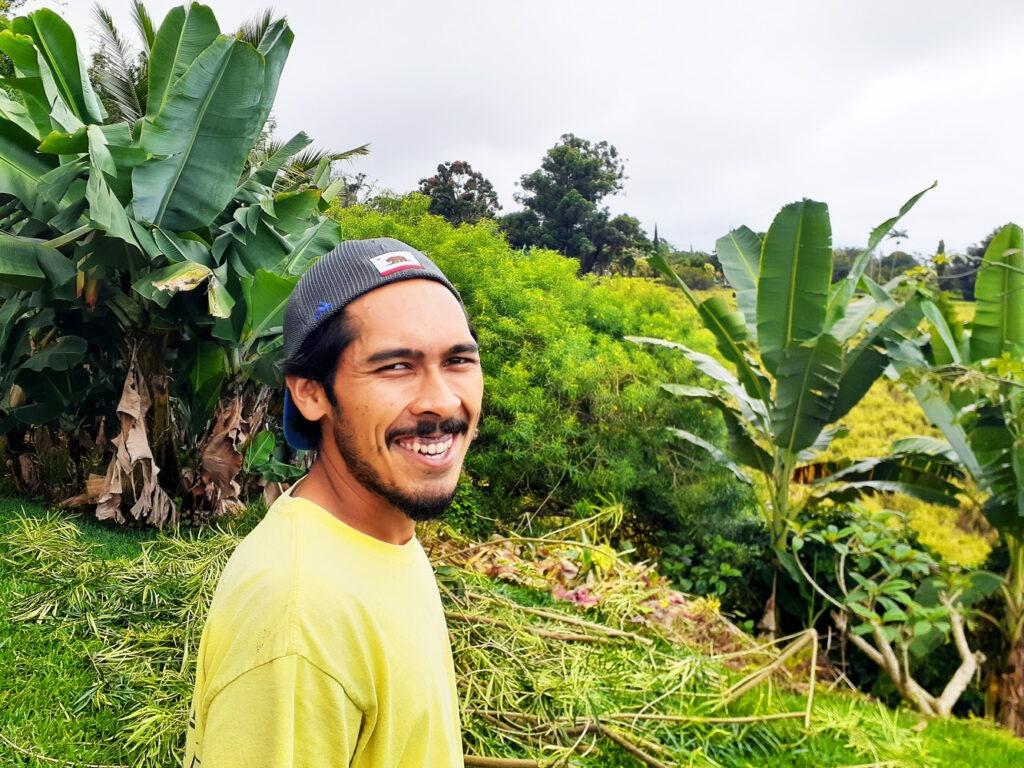 Bronson - Greenwell Farms Kona Coffee Tour Guide