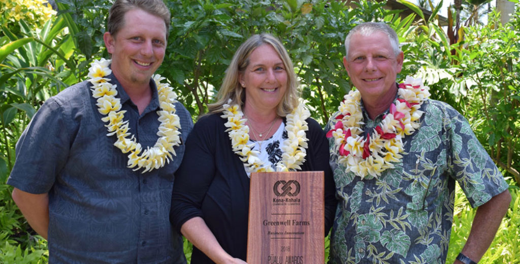Greenwell Farms Wins Pualu Business Innovation Award