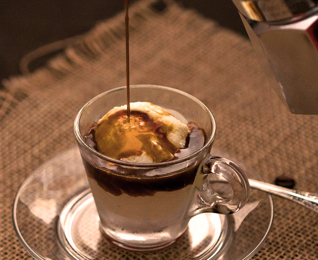 Kona Coffee Affogato