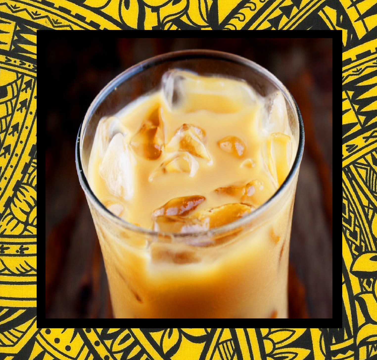 Iced Kona Coffee