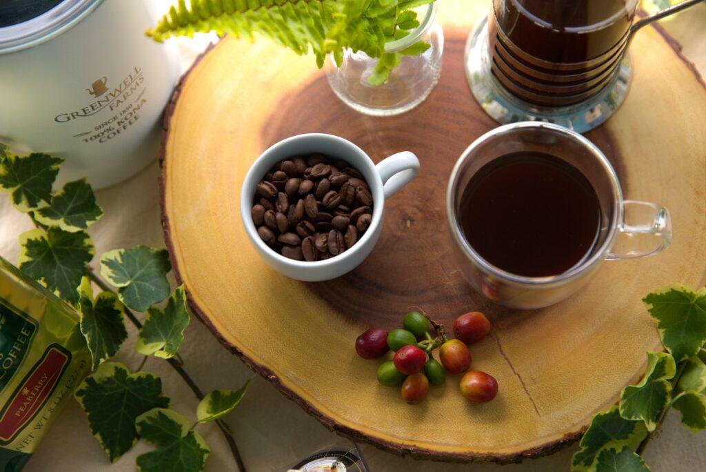 Kona Coffee Cups