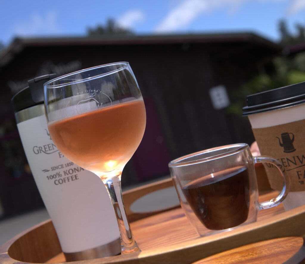 Greenwell Farms Coffee and Wine Outside